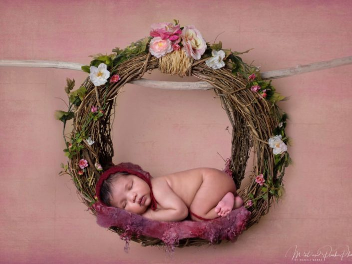 Newborn Nest Wreath